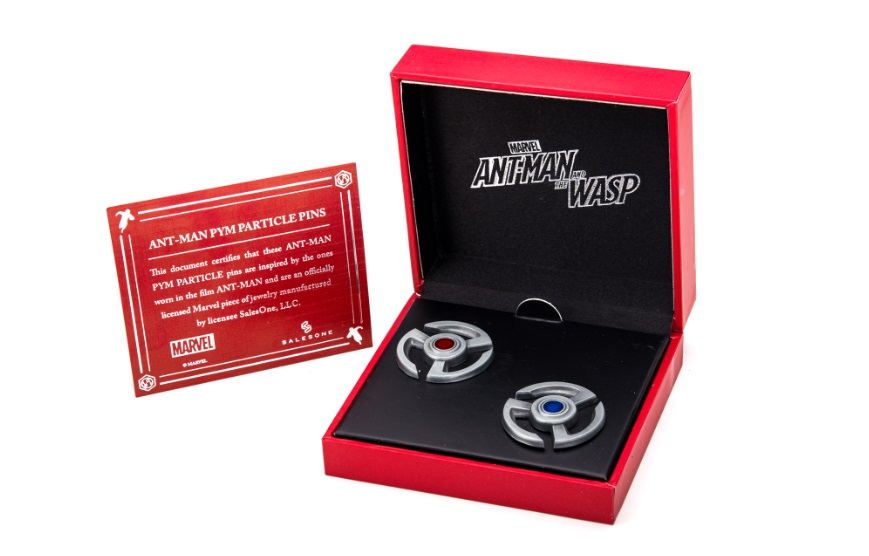Ant-Man Marvel Comics Pym Particle Pin Set NYCC 2018 Exclusive