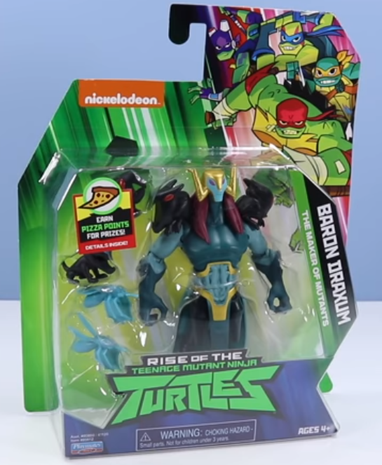 Baron Draxum Rise of the TMNT action figures Playmates Toys