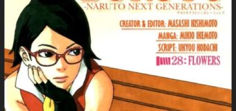 'Boruto: Naruto Next Generations' Manga Issue 28 Review: Flowers