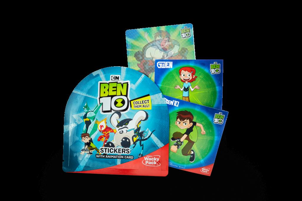 SONIC Drive-In & Cartoon Network Enterprises: Ben 10 Toys & Stickers!