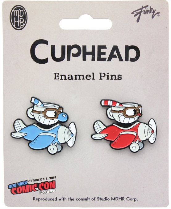 Cuphead And Mugman Airplane 2 Pack NYCC 2018 Exclusive
