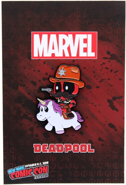 Deadpool Sheriff Riding Unicorn Marvel Comics NYCC 2018 Exclusive