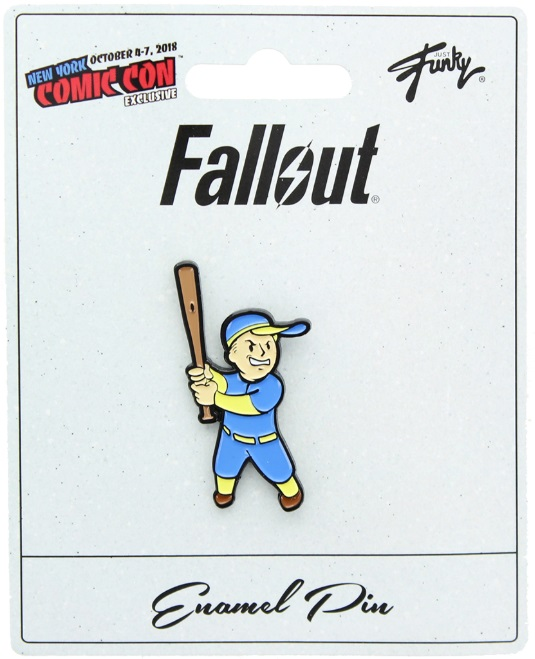 Fallout Vault Boy Baseball NYCC 2018 Exclusive