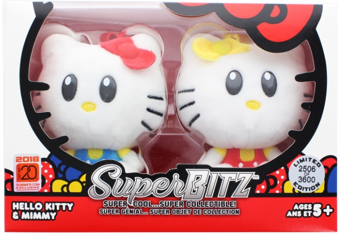 Sanrio Hello Kitty SuperBitz Hello Kitty And Mimmy Twin Sisters 2018 Summer Convention Exclusive