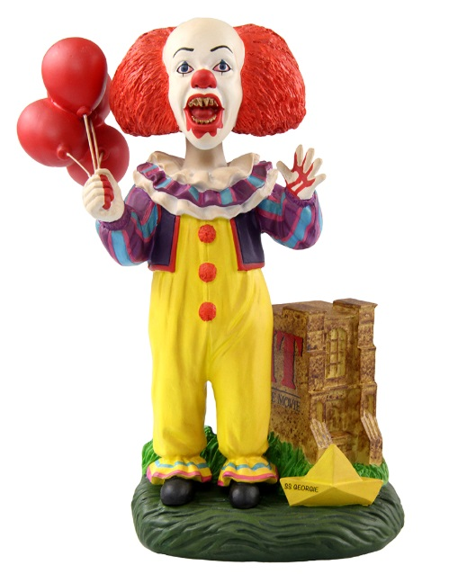 IT Blood Splattered Pennywise 1990 Bobblehead