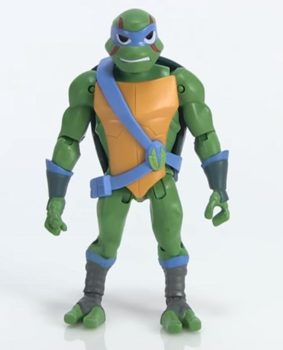Leonardo Rise of the TMNT action figure Playmates Toys