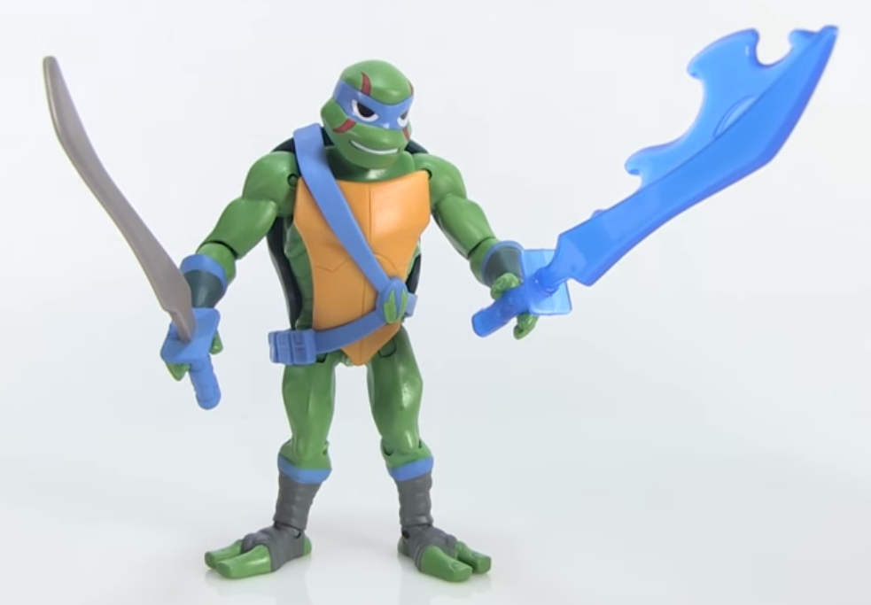 Leonardo Rise of the TMNT action figure Playmates Toys