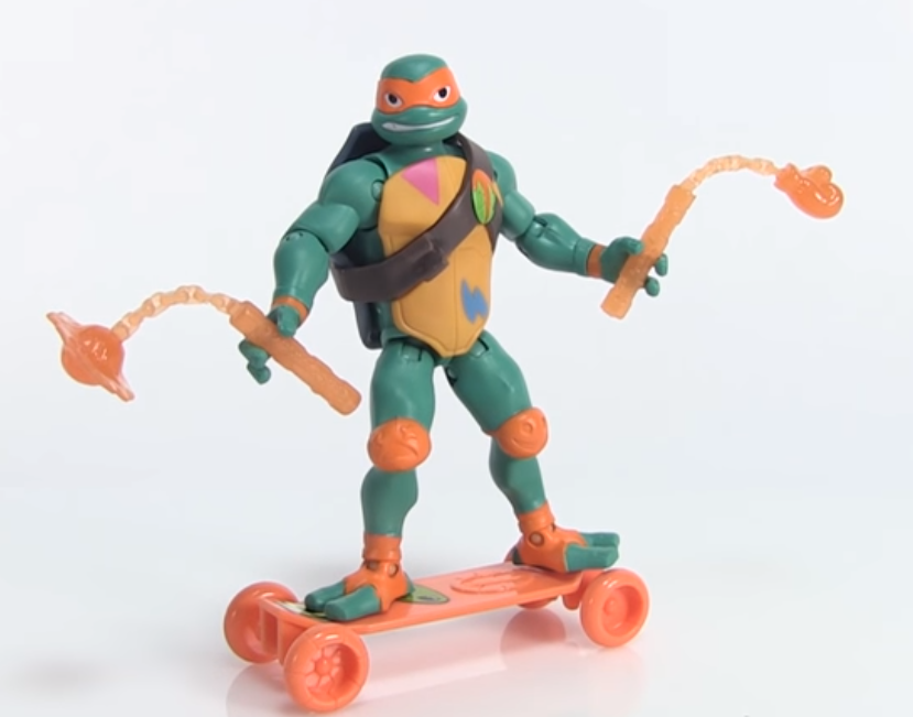 Michelangelo Rise of the TMNT action figure Playmates Toys