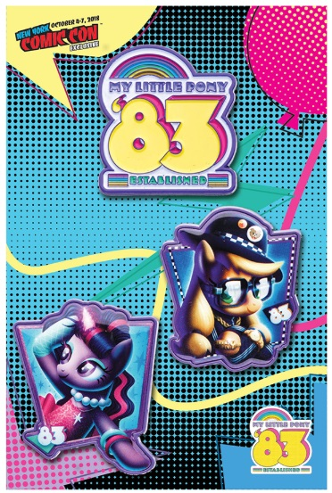 My Little Pony Enamel Pin Rockie Davies 3 Pack