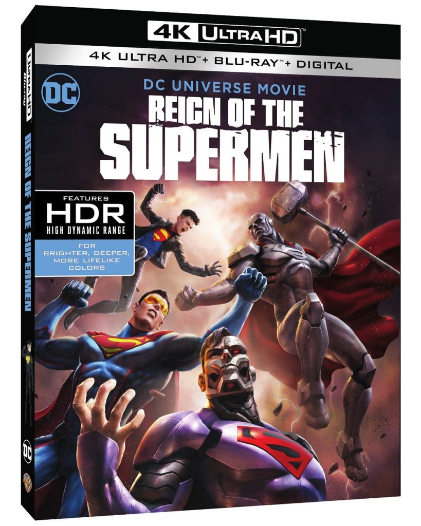 Reign of the Supermen Blu-ray release