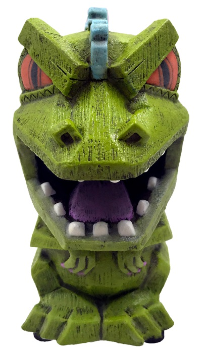 Reptar Nickelodeon Glow in Dark Eekeez Figurine