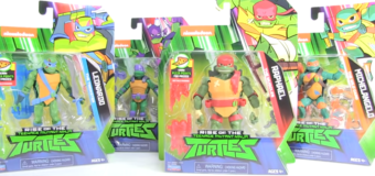 Rise of the Teenage Mutant Ninja Turtles Wave 1 Action Figures Review – Playmates Toys