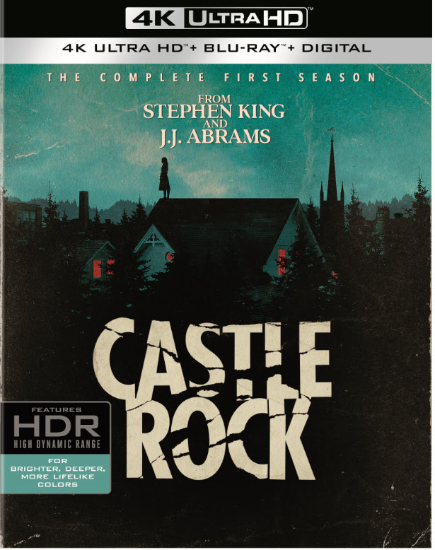 Castle Rock The Complete First Season Blu-ray DVD 4K Digital release