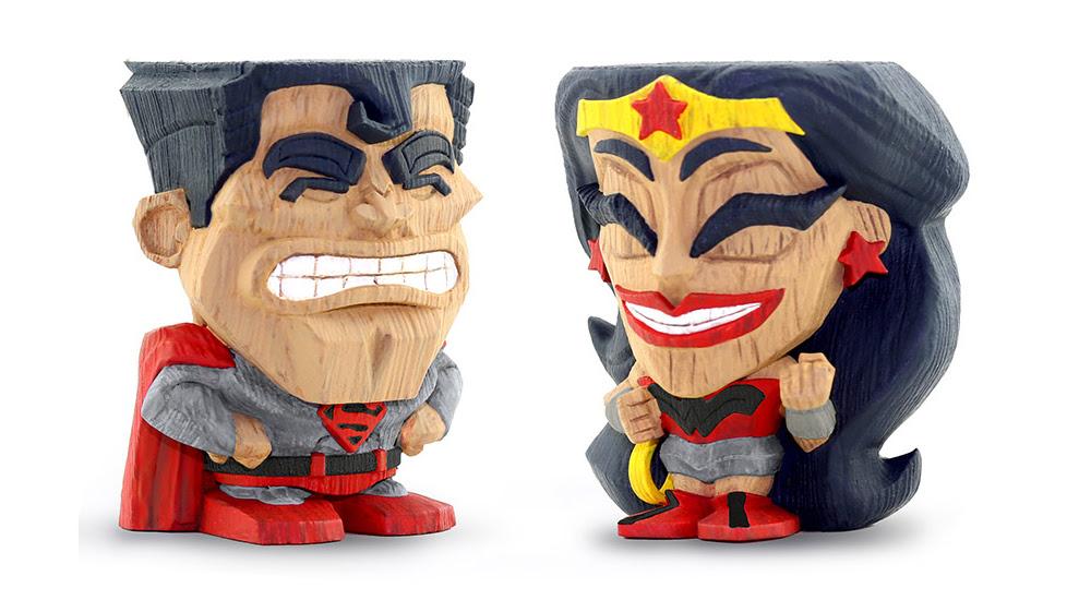2019 PX Superman Wonder Woman Free Comic Book Day