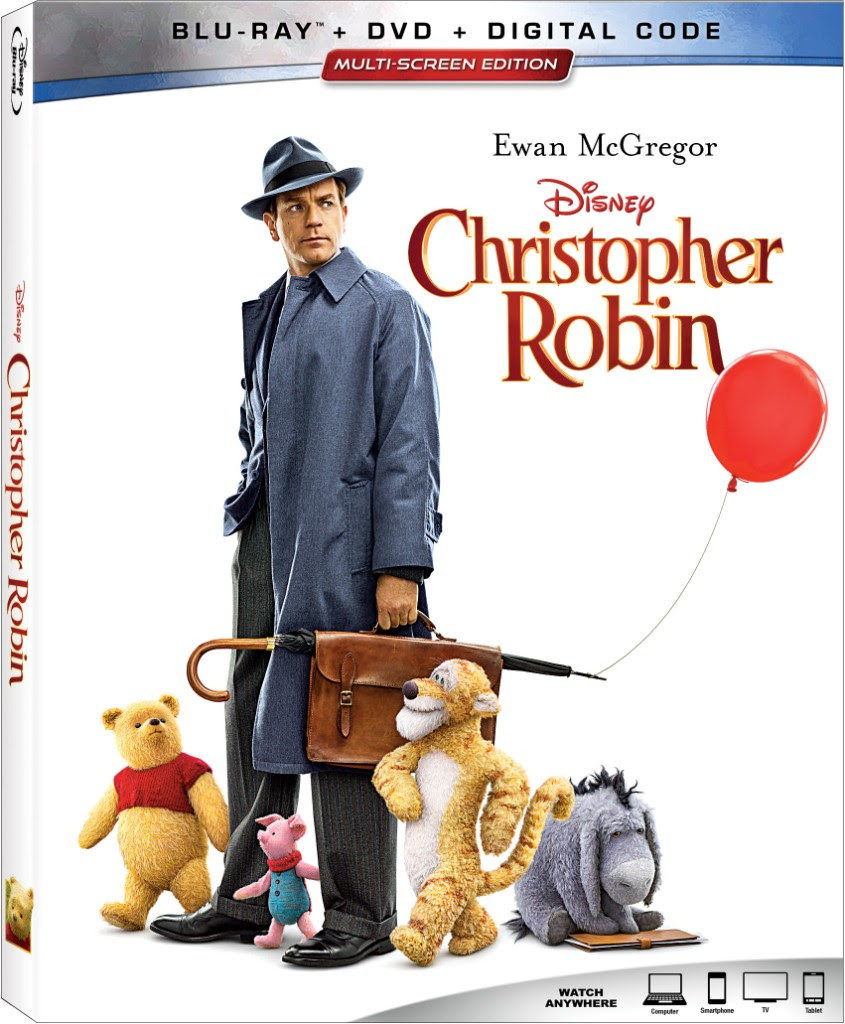Christopher Robin Blu-ray DVD Disney November release