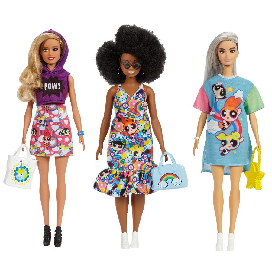 Barbie Cartoon network enterprises Powerpuff girls
