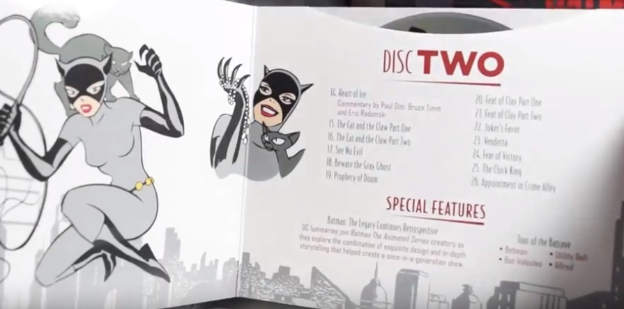 Batman animated series Blu-ray review