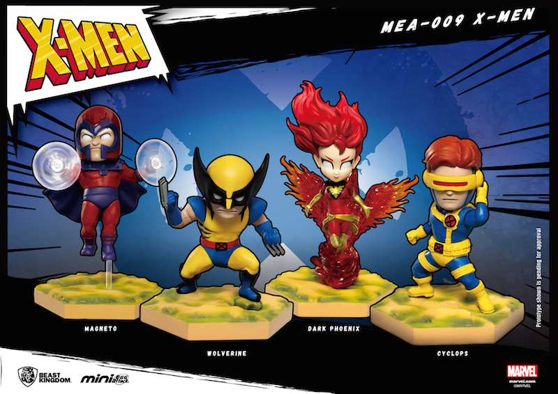 Beast Kingdom X-Men Mini Egg Attack Statue Series