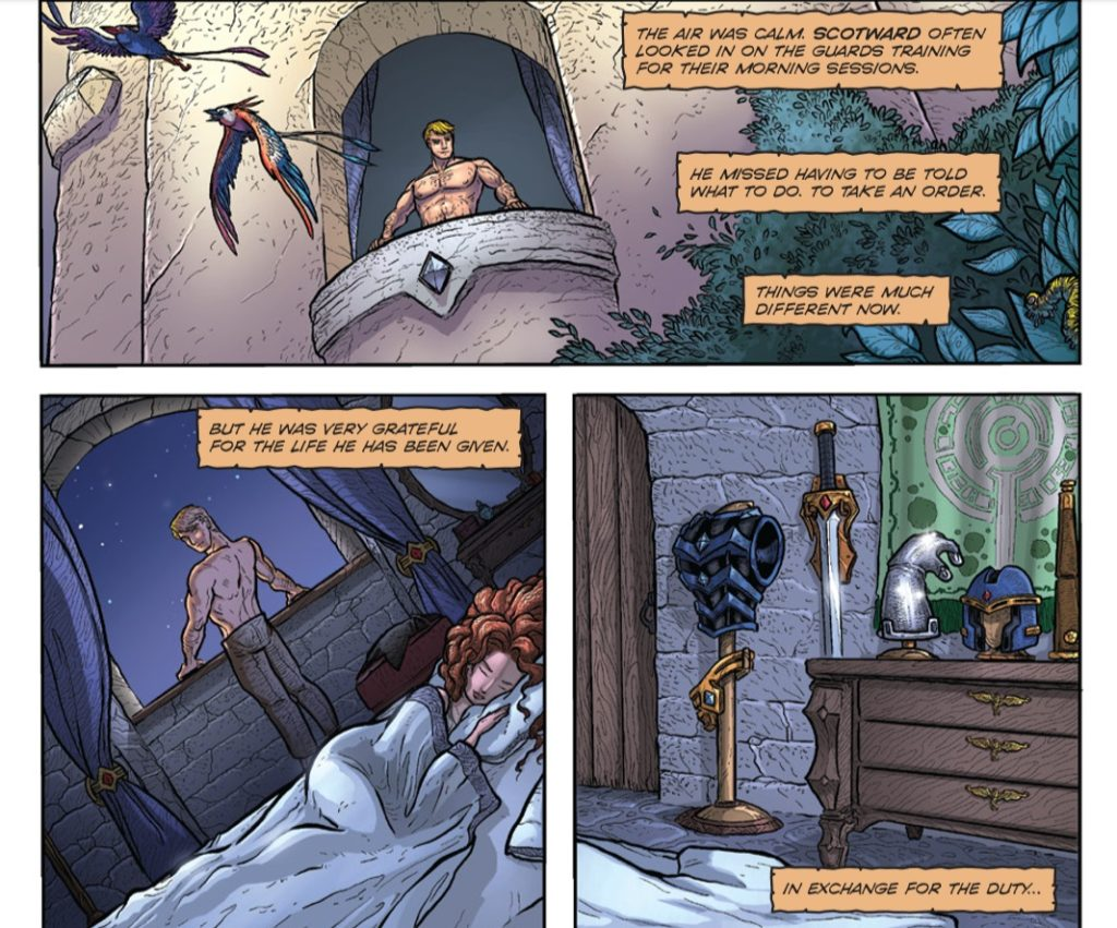 Defender of Eden Issue 1 review