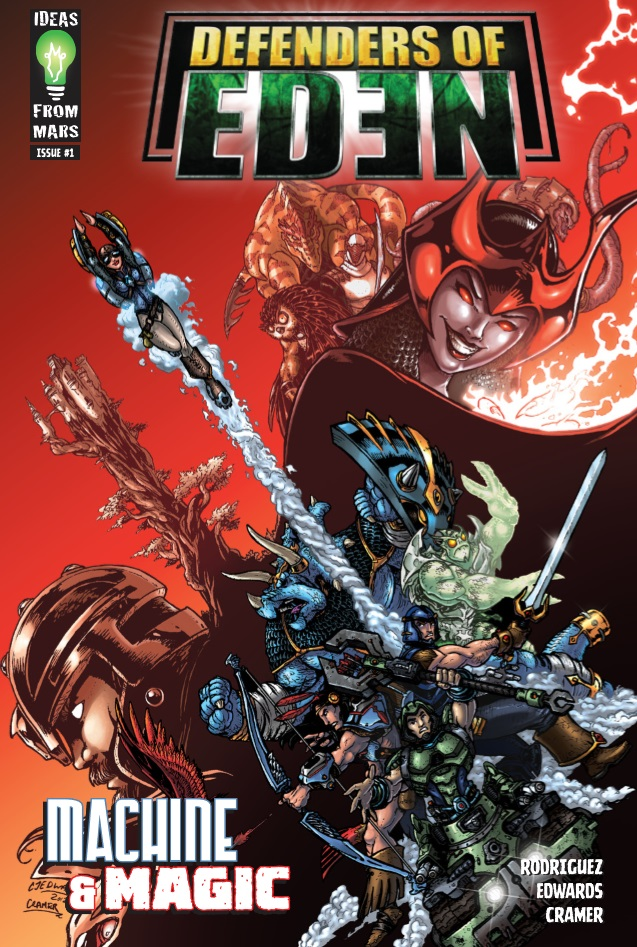 Defenders Of Eden Issue 1 Review