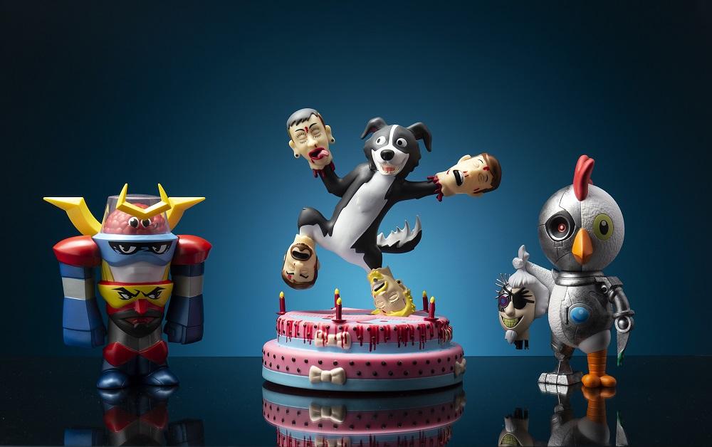 Kidrobot figures
