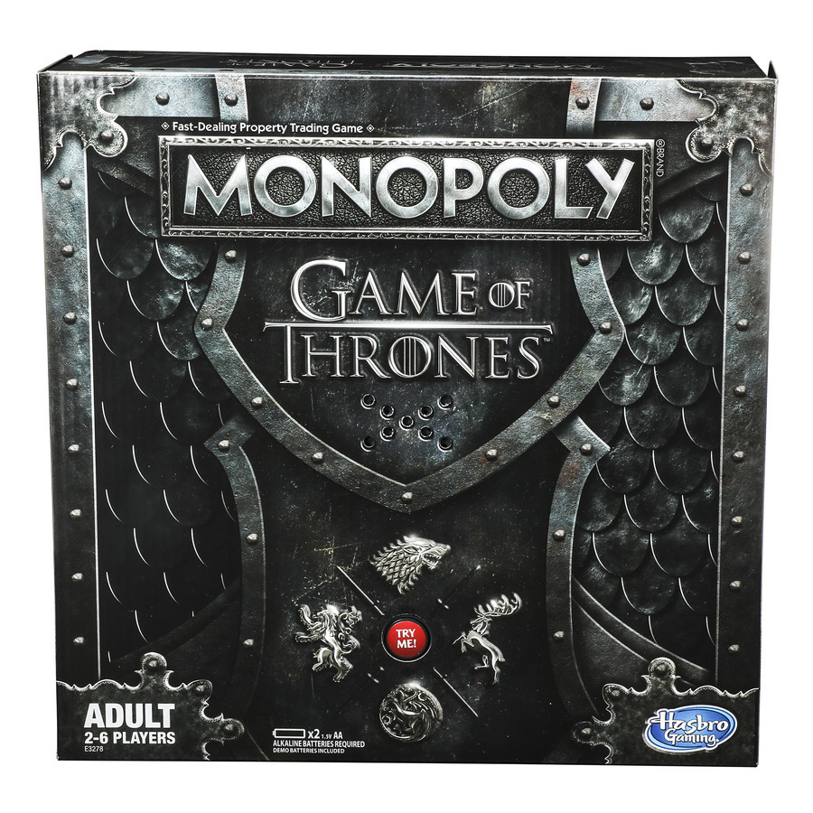 Monopoly Game of Thrones Edition Hasbro HBO