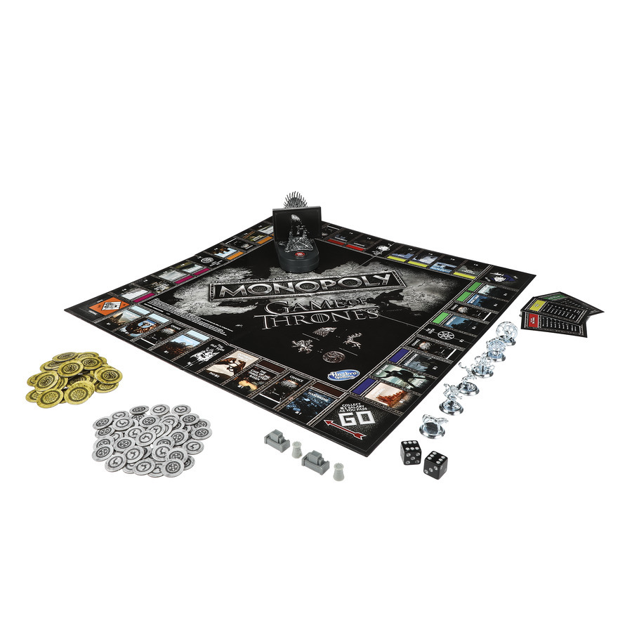 Monopoly Game of Thrones HBO Hasbro game