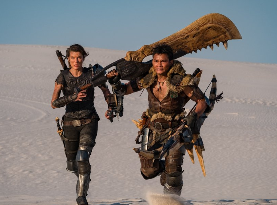 Monster Hunter film Milla Jovovich Tony Jaa Sony