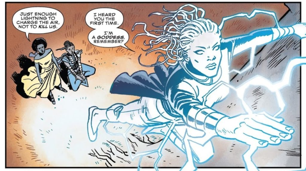 Shuri Issue 2 Storm Marvel Nnedi Okorafor