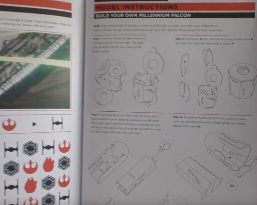 Star Wars Build Your Own Millennium Falcon manual
