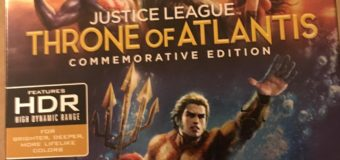 """Justice League: Throne of Atlantis – Commemorative Edition"" 4K Ultra HD Review"