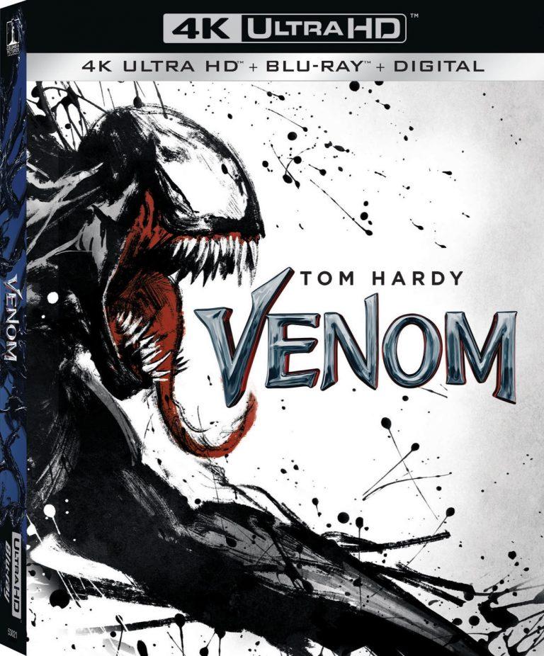 Symbrock Vemom Blu-ray DVD Sony Pictures