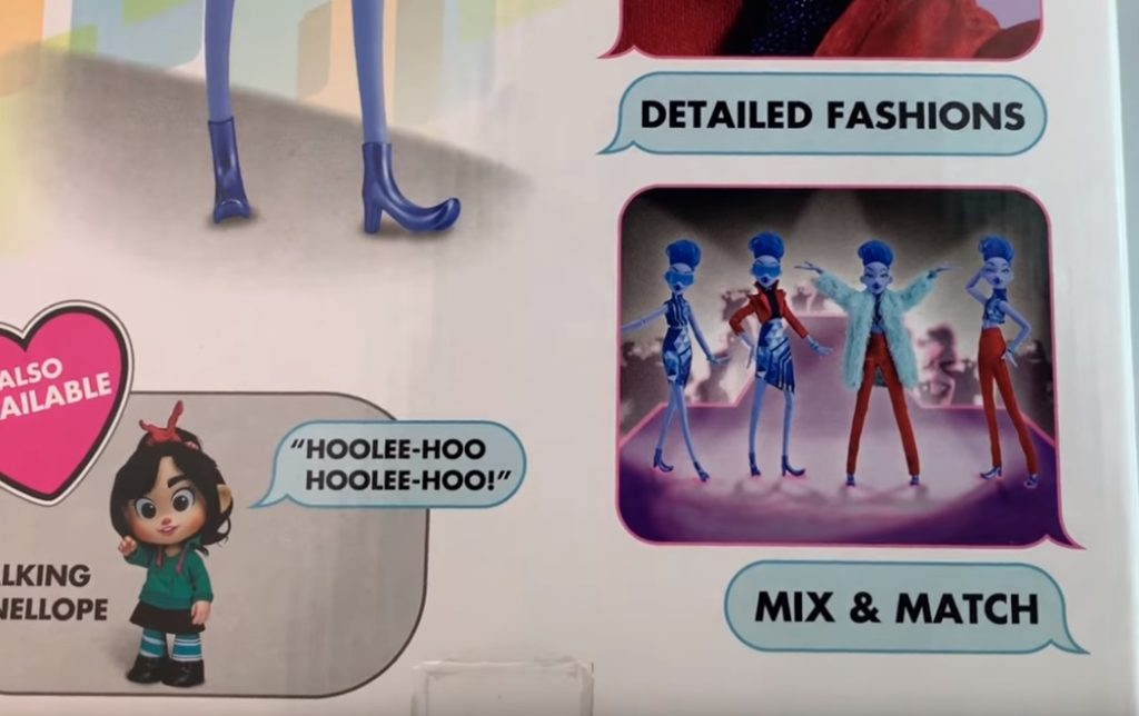 Yesss Fashion Doll review Ralph Breaks the Internet