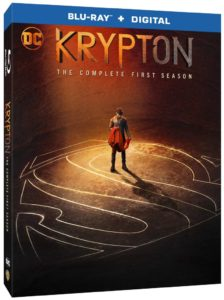 Krypton Season 1 Blu-ray DVD release Syfy Krypton Season one