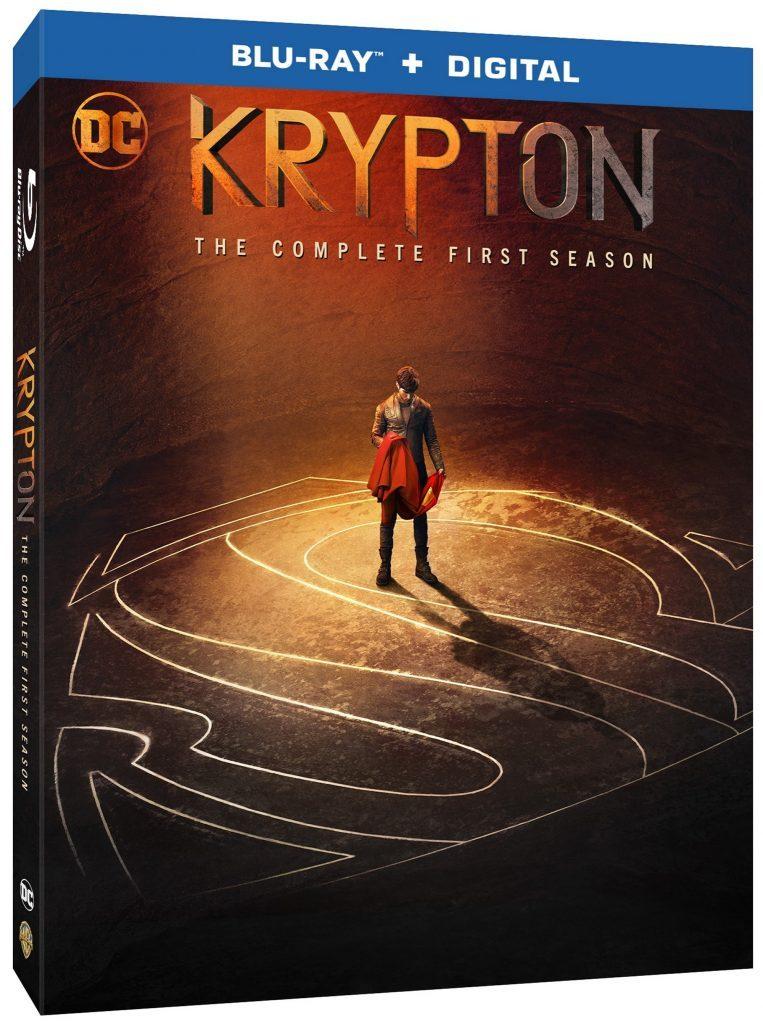 Krypton Season 1 Blu-ray DVD release Syfy
