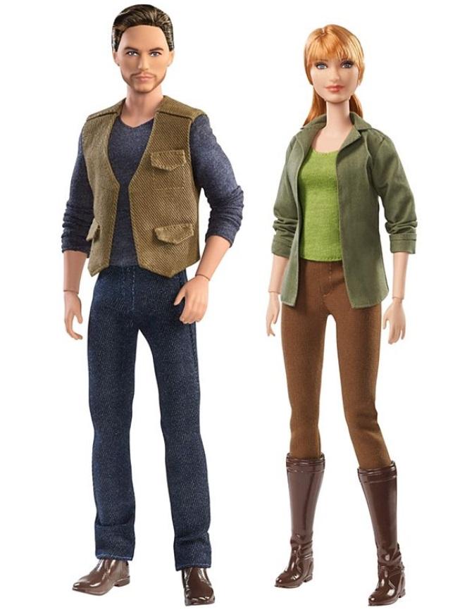 Barbie Jurassic World dolls