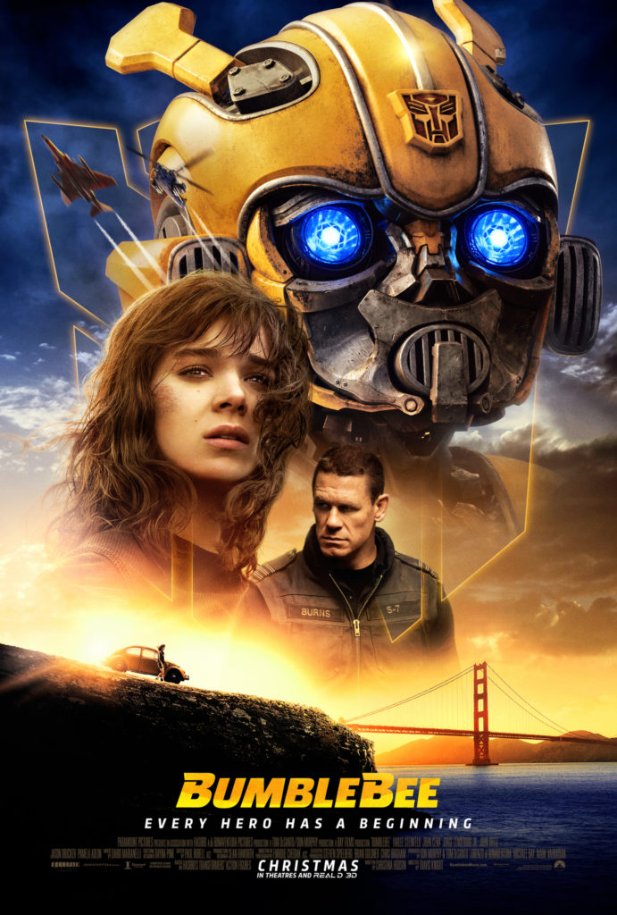 Bumblebee Film 2018 Poster box office