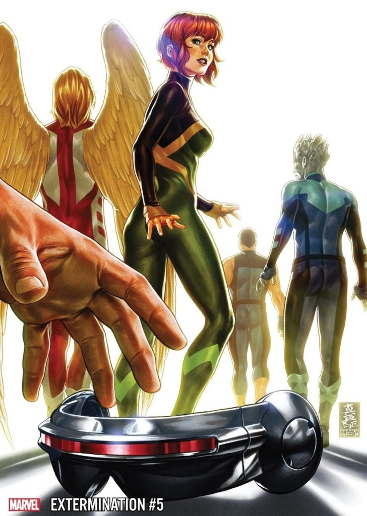 Extermination Issue 5 Cover Marvel