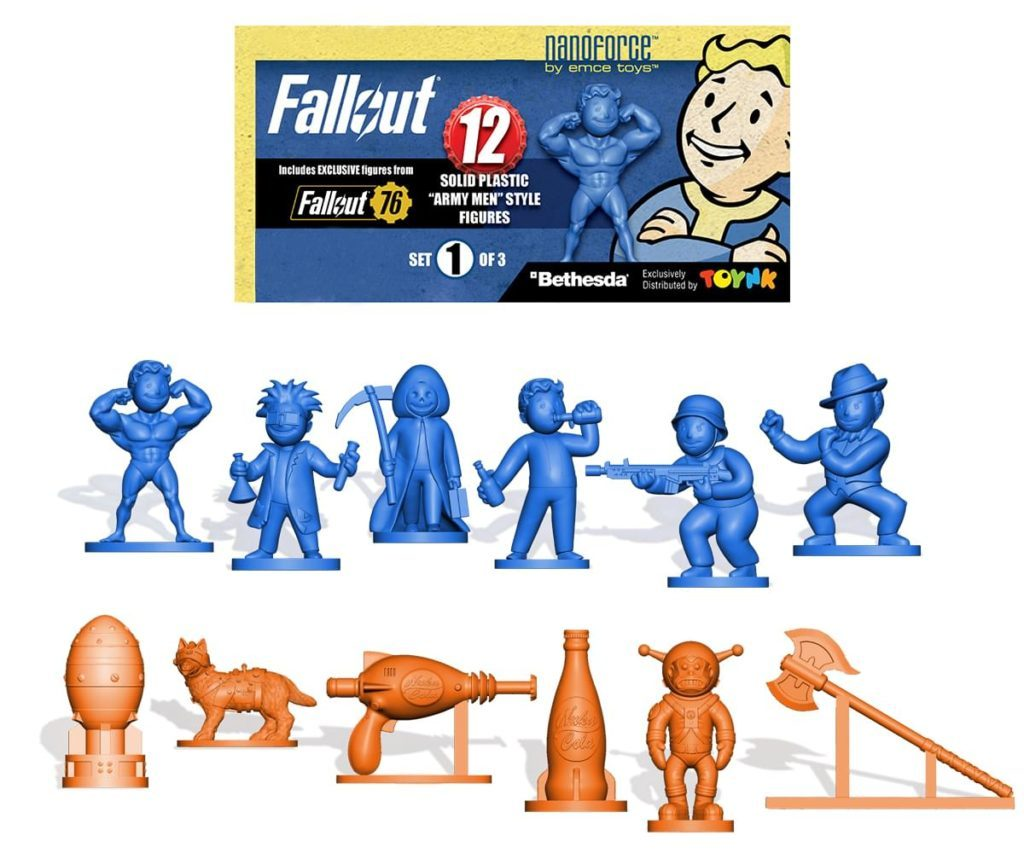Fallout Nanoforce Army Builder Bag 1 Toynk Toys review