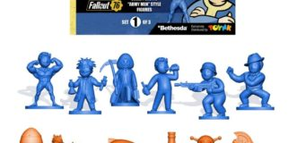 Fallout Nanoforce Series 1 Army Builder Figure Collection Bagged Set 1 – Review