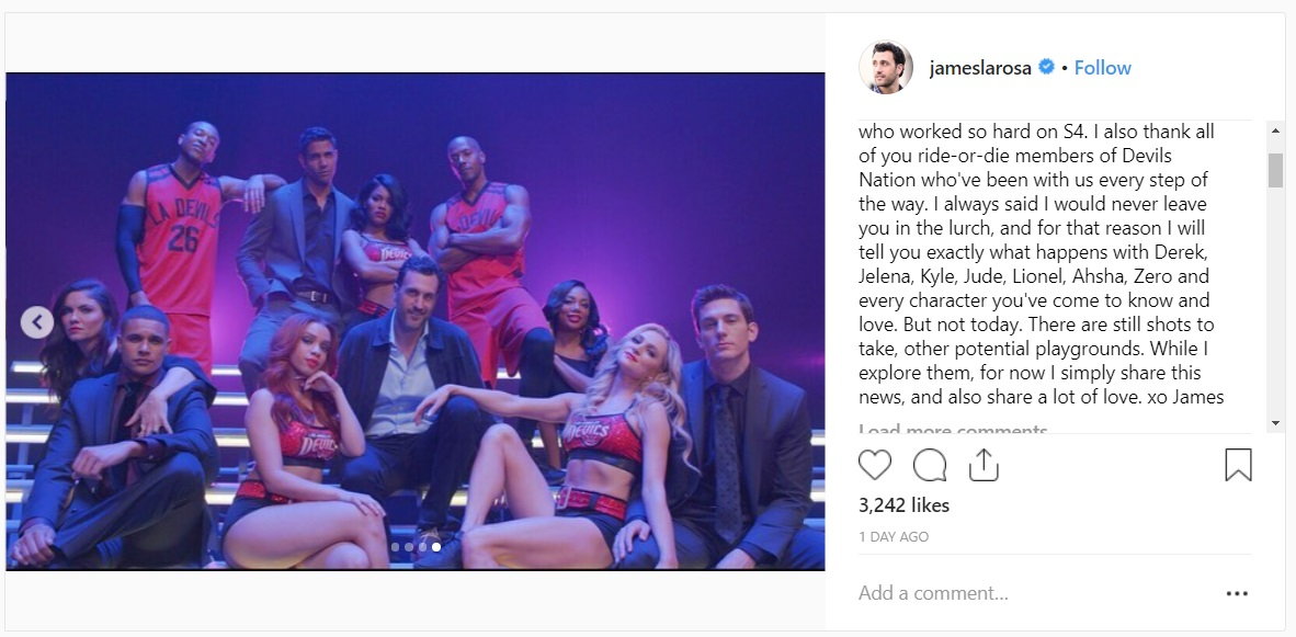 Hit The Floor Season 5 Not Coming To Bet Larosa Will Continue Story