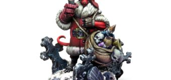 Limited Edition Holiday Hellboy Announced By Mantic Games