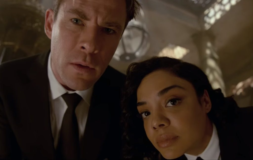 Men in Black International trailer Chris Tessa