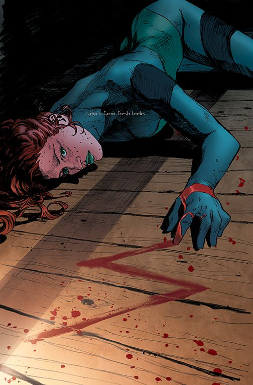 Poison Ivy Heroes in Crisis Issue 7 recolored cover