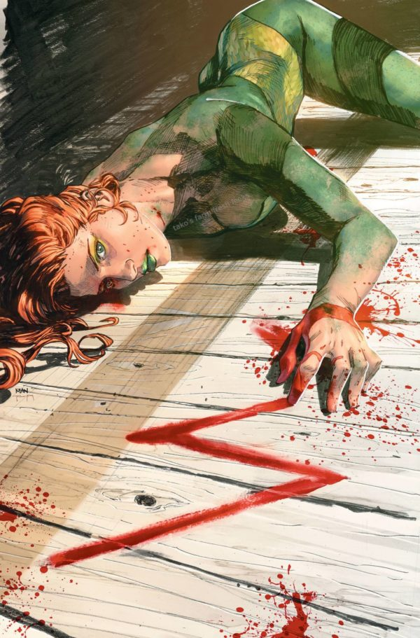 Poison Ivy Heroes in Crisis Issue 7 original Clay Mann cover