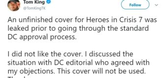 DC Comics Responds to Problematic Poison Ivy Cover for Heroes in Crisis Issue 7