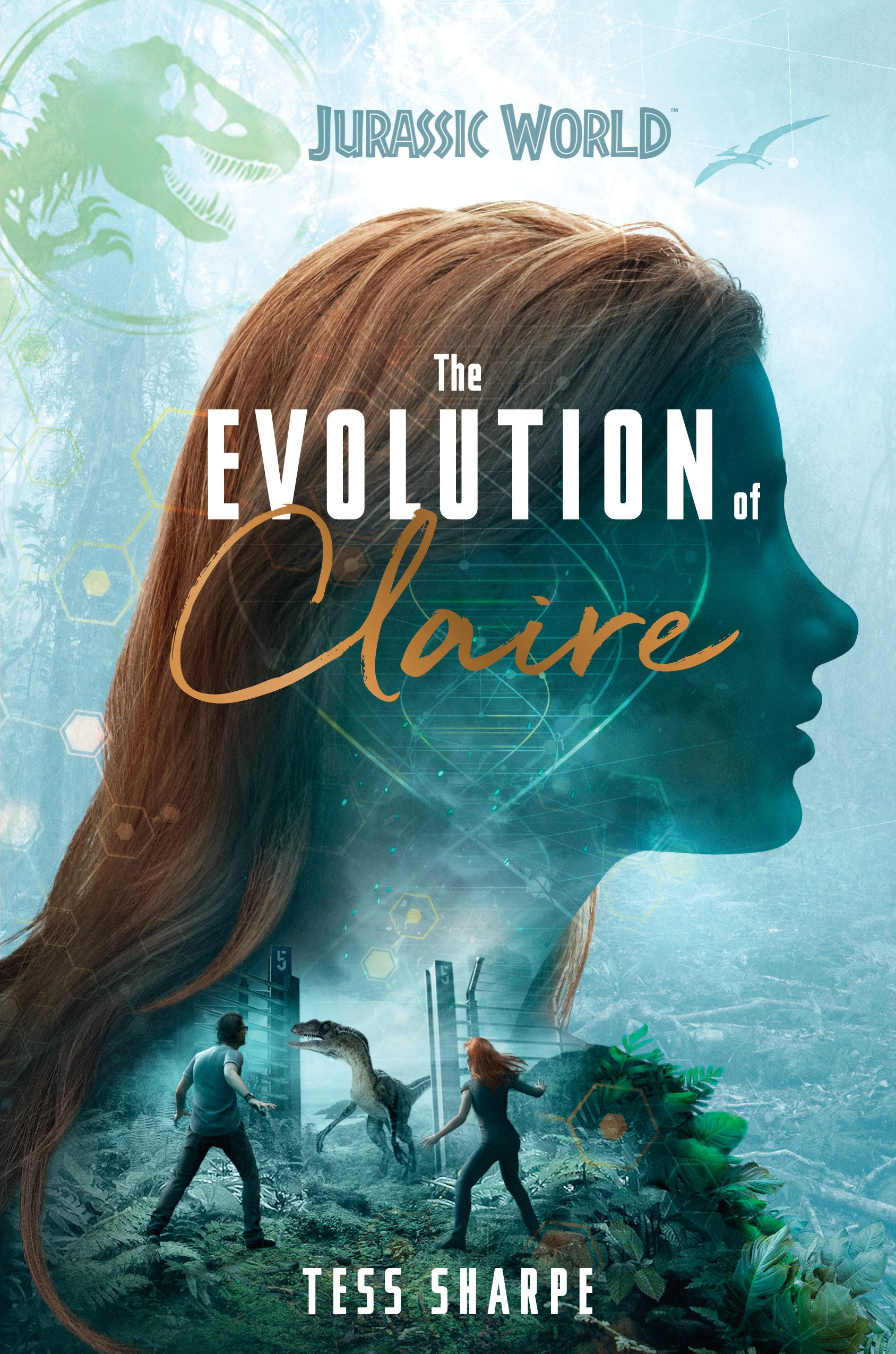 Jurassic World the Evolution of Claire book Dinosaur