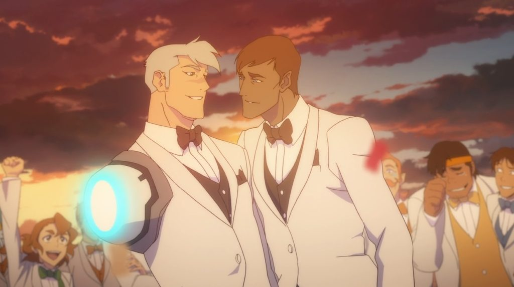 Shiro Voltron Legendary Defender Season 8 Episode 13 Shiro wedding