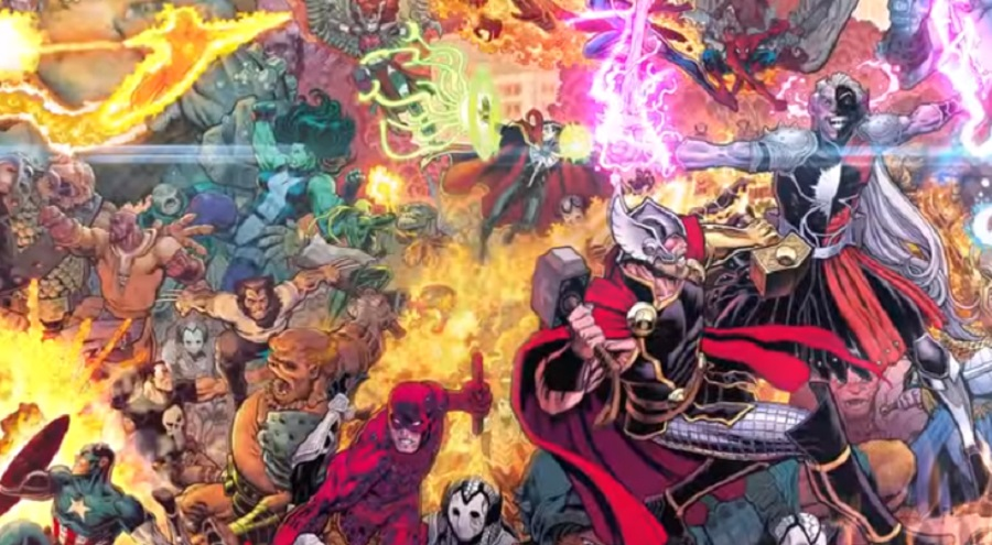 War of the Realms Marvel 2019 Thor event