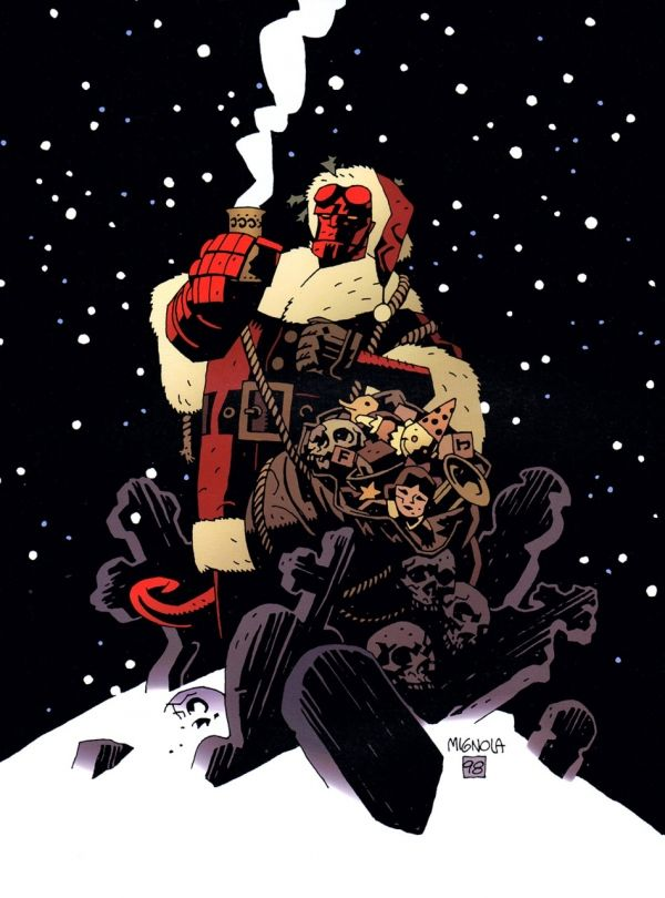 Holiday Hellboy Mantic Games